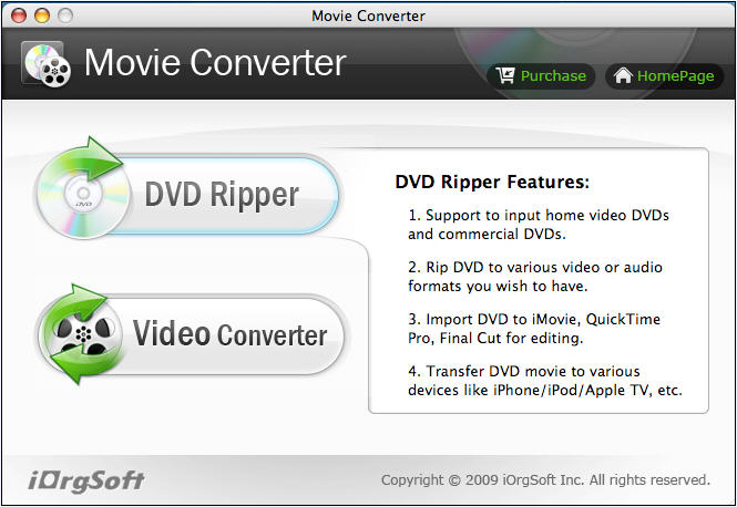 DVD to iTunes for Mac