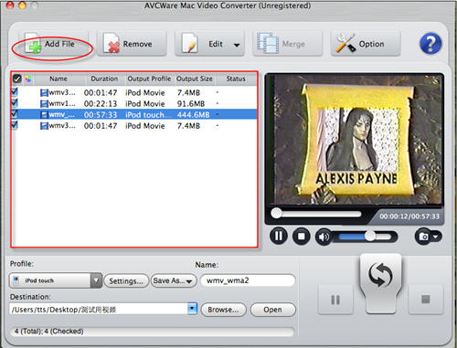 Mac WMV to iTunes Converter